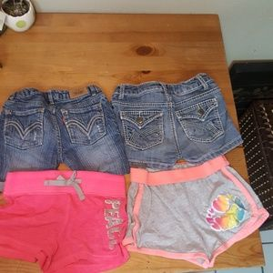 4 pack 7/8 shorts